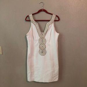 Lilly Pulitzer Valli shift dress - Size 14, White
